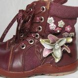 Демисезонные ботинки сапожки, сапоги, ботиночки Шалунишка, 26 рр,