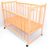 Кроватка-Качалка деревянная