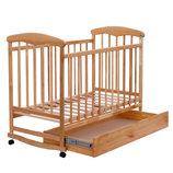 Кроватка-Качалка с шухлядкой Наталка