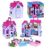 Домик для кукол с фигурками и мебелью F611