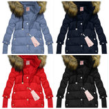 Зимняя женская куртка пуховик