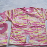 Новая футболка для девочек, р.86