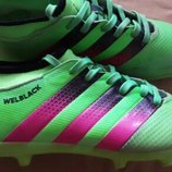 Бутсы копы фирменные Adidas WelBlack р.36-22см.