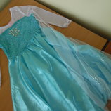 Карнавальное платье девочке 140 см Disney Дисней эльза принцесса