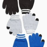 Набор из трех пар перчаток 3-16лет