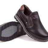 Туфли для мальчика черные, Xti, E1359, Тм EEB.B , Размеры 27, 28, 29, 30, 31, 32 Школьные туфли