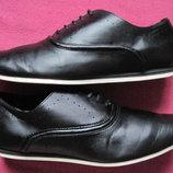 Zara Man 41, 26 см кэжуал туфли оксфорды мужские