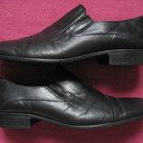 Solid 41,5, 26,5 см кожаные туфли мужские