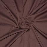 Ткань костюмная полушерсть цвет коричневый 140х140см