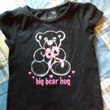 Майка и футболка девочке 1-3года, две вещи за 50грн.