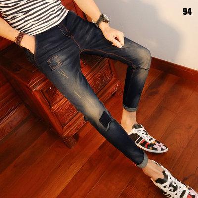 Мужские стильные штаны Edge джинсы AL6747-94