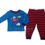Трикотажная пижама для мальчика 86, 92 см Primark