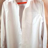 Белая рубашка на рост 134-140