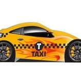 Кровать-Машинка Taxi , серия Бренд