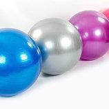 Мяч для фитнеса фитбол гладкий глянцевый 85см Zel 1982-85 вес 1200г, система ABS