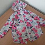Курточка ветровка девочке 3 года E-vie оригинал бренд