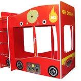 Двухъярусная кровать Пожарная машина