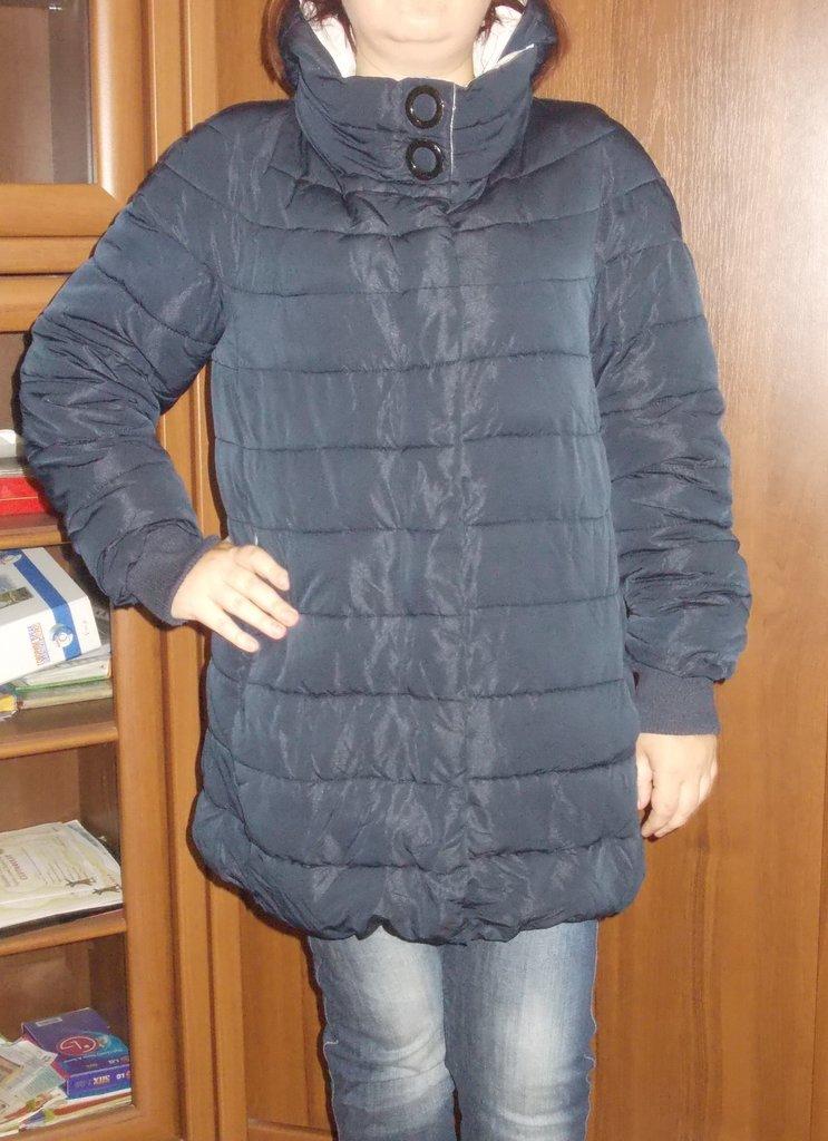 Верхняя женская одежда на холофайбере