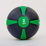 Мяч медицинский медбол 2кг 5122-2 диаметр 19см, вес 2кг