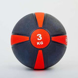 Мяч медицинский медбол 3кг 5122-3 диаметр 21,5см, вес 3кг