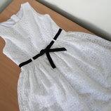 платье девочке 13-14 лет 158-164 см Freespirit белое кружево оригинал