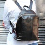 Удобный рюкзак на все случаи, натуральная кожа