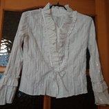 Блуза школьная на девочку р.152