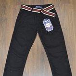 Котоновые брюки для мальчиков,размеры 8-16.Фирма GOOD KIDS. Цвет- черный