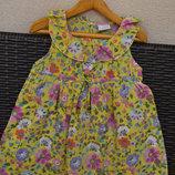 Летнее платье Next, для девочки 4-5 лет