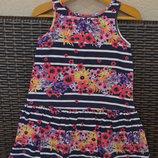 Летнее платье H&M , для девочки 2-4 года