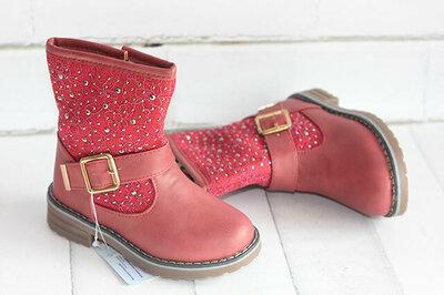 Демисезонные ботинки Шалунишка. Размеры 25-30
