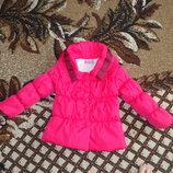 Курточка пальтишко на махре демисезонная 3-4,5года