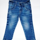 Стильные джинсы, узкачи, скинни, 74, 6-9 мес. Состояние новых