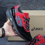 Кроссовки Asics Gel-Lyte III Black/red, Топ качество