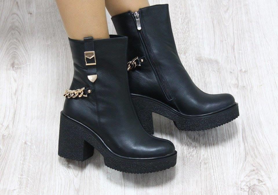 зимние ботинки женские фото на каблуке этого можно