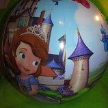 Мяч надувной принцесса софия
