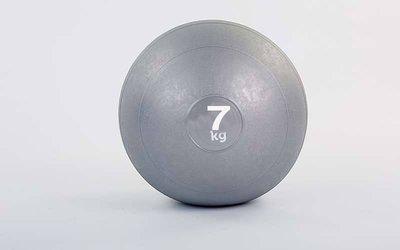 Мяч медицинский слэмбол Slam Ball 5165-7 вес 7кг, диаметр 23см