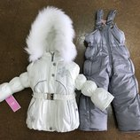 Комбинезон зимний/Куртка полукомбинезон зимний костюм/Куртка зимняя