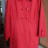 Пальто H&M демисезонное кашемировое 52-54 р.