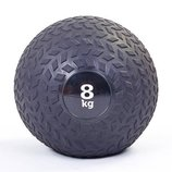 Мяч медицинский слэмбол Slam Ball 8кг 5729-8 диаметр 23см, вес 8кг