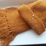Набор шапка шарф