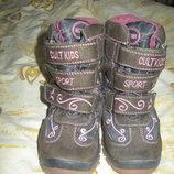 Сапожки ботинки термо 26 размер