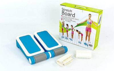 Доска для стретчинга Stretch Board 7310 размер 35,5x34см, 7 углов наклона