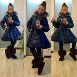 Куртка пальто на девочку зима