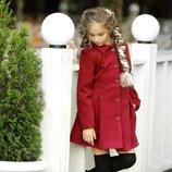 Пальто на девочку кашемир