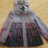 очень красивое пальто для девочки