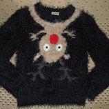 кофта травка некст супер 7 лет свитер нарядный девочке