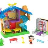 Fisher-Price Игровой дом космос космическая станция Julius Jr. Rock 'n Playhouse Box