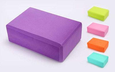 Йога-Блок блок для йоги 5951, 5 цветов 23х15,5х8см