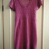 Суперцена ажурное вязаное платье atmosphere 44-46р s-m